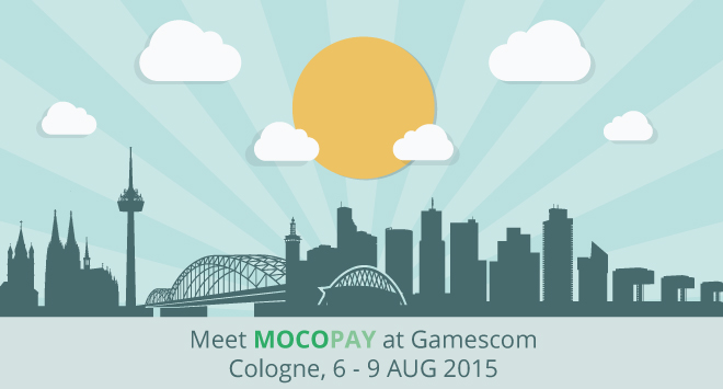 Mocopay to exibit at Gamescom in Cologne, Germany